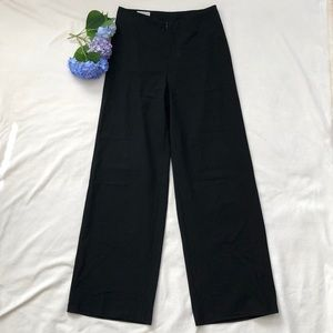 Dries Van Noten 34/36 black wool blend pants EUC